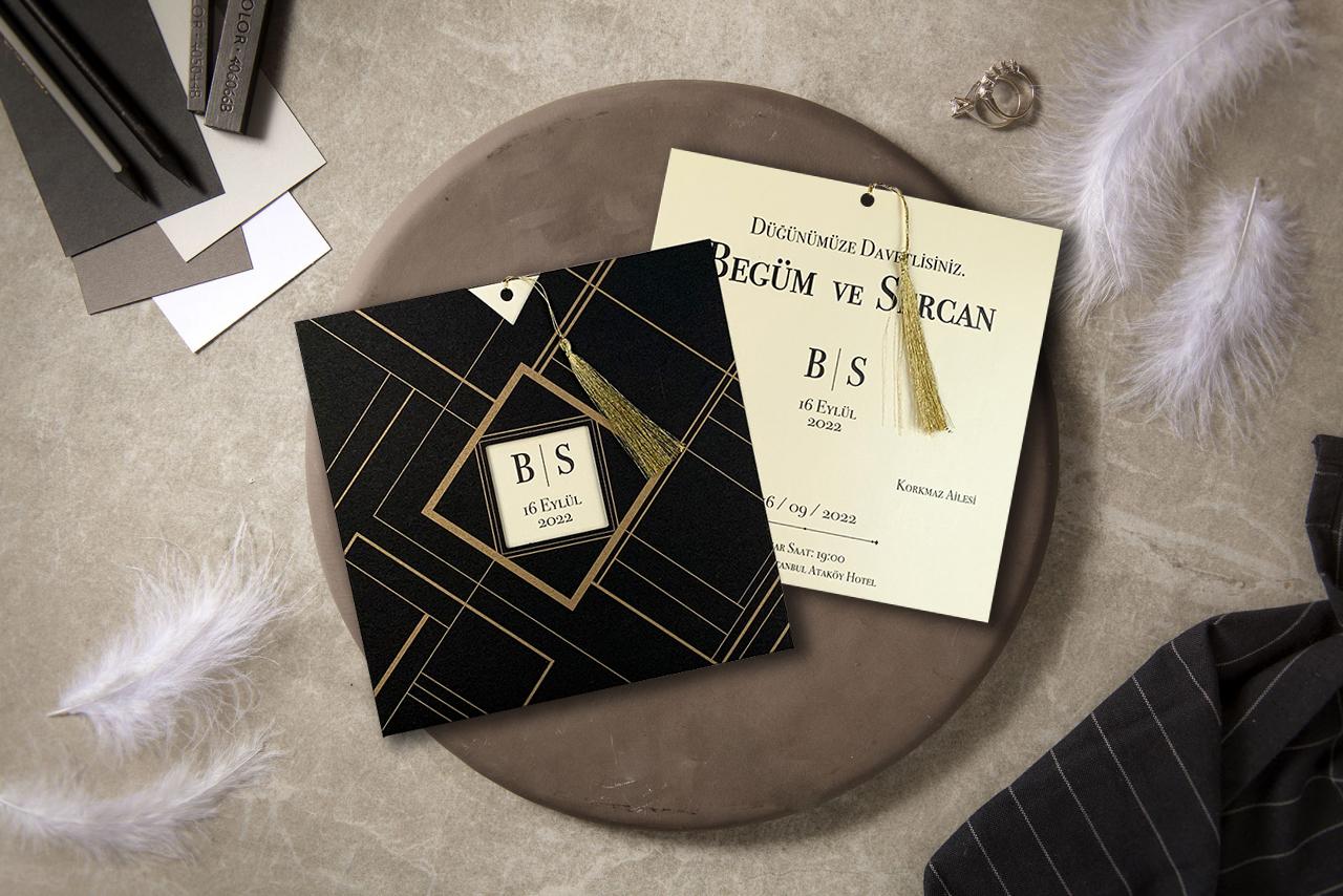 siyah-zarflı-düğün-davetiyesi