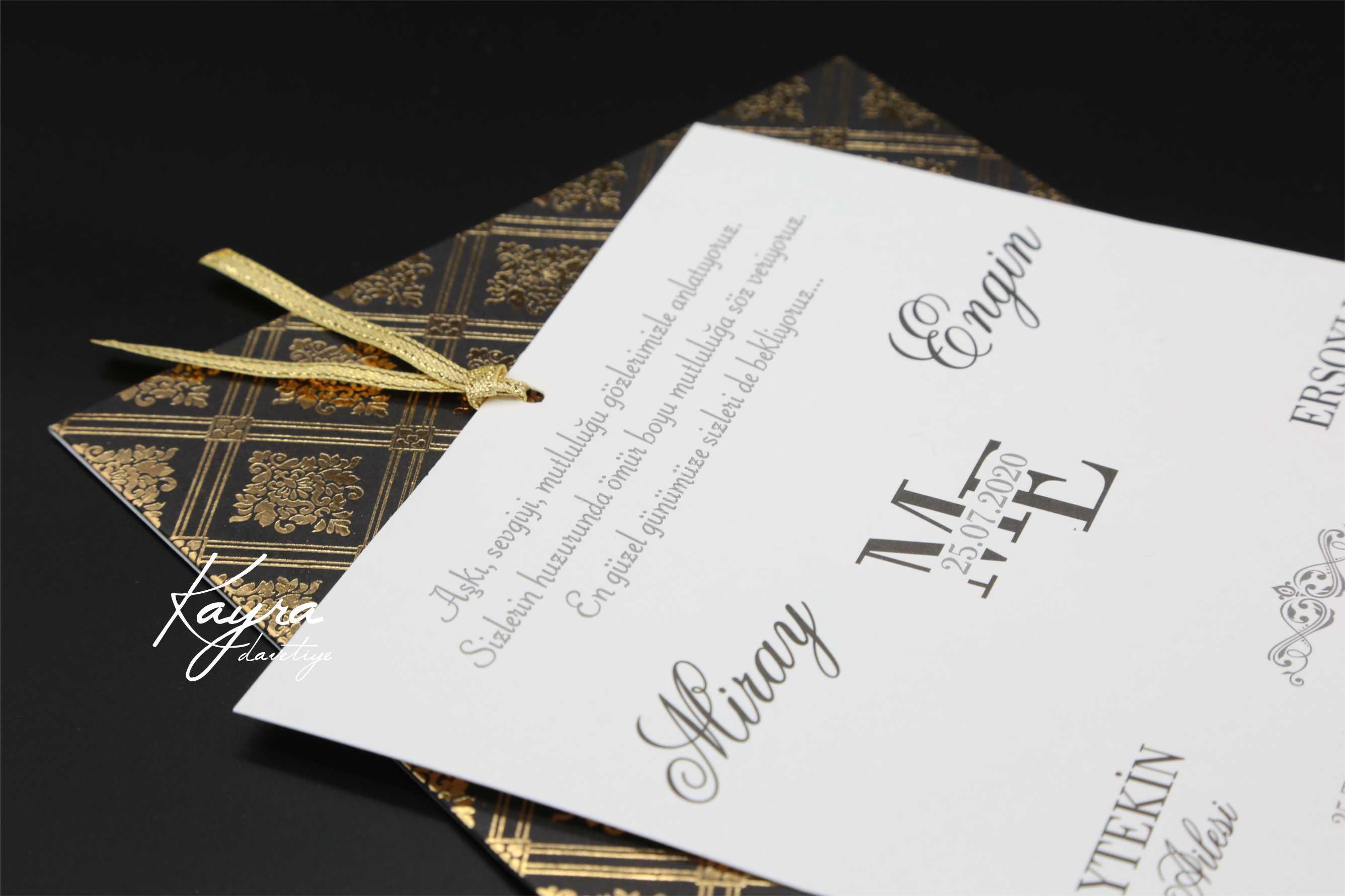 Düğün davetiyesi modelleri