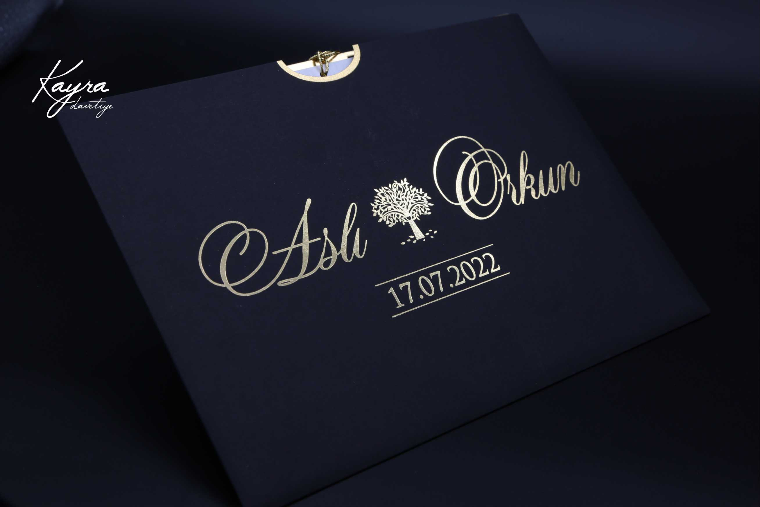 Düğün davetiyesi ve nişan davetiyesi
