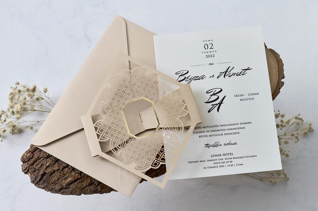 özel tasarım davetiye-kayra davetiye