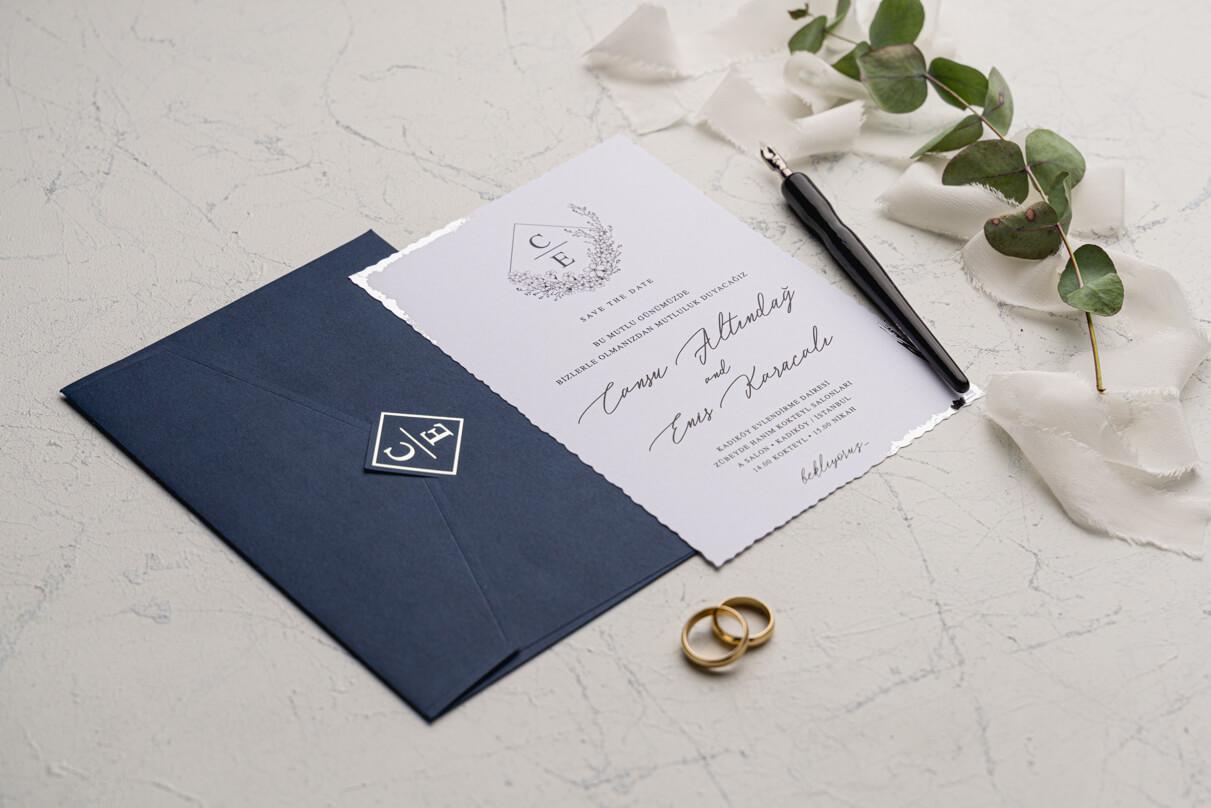 Düğün davetiyesi örneği