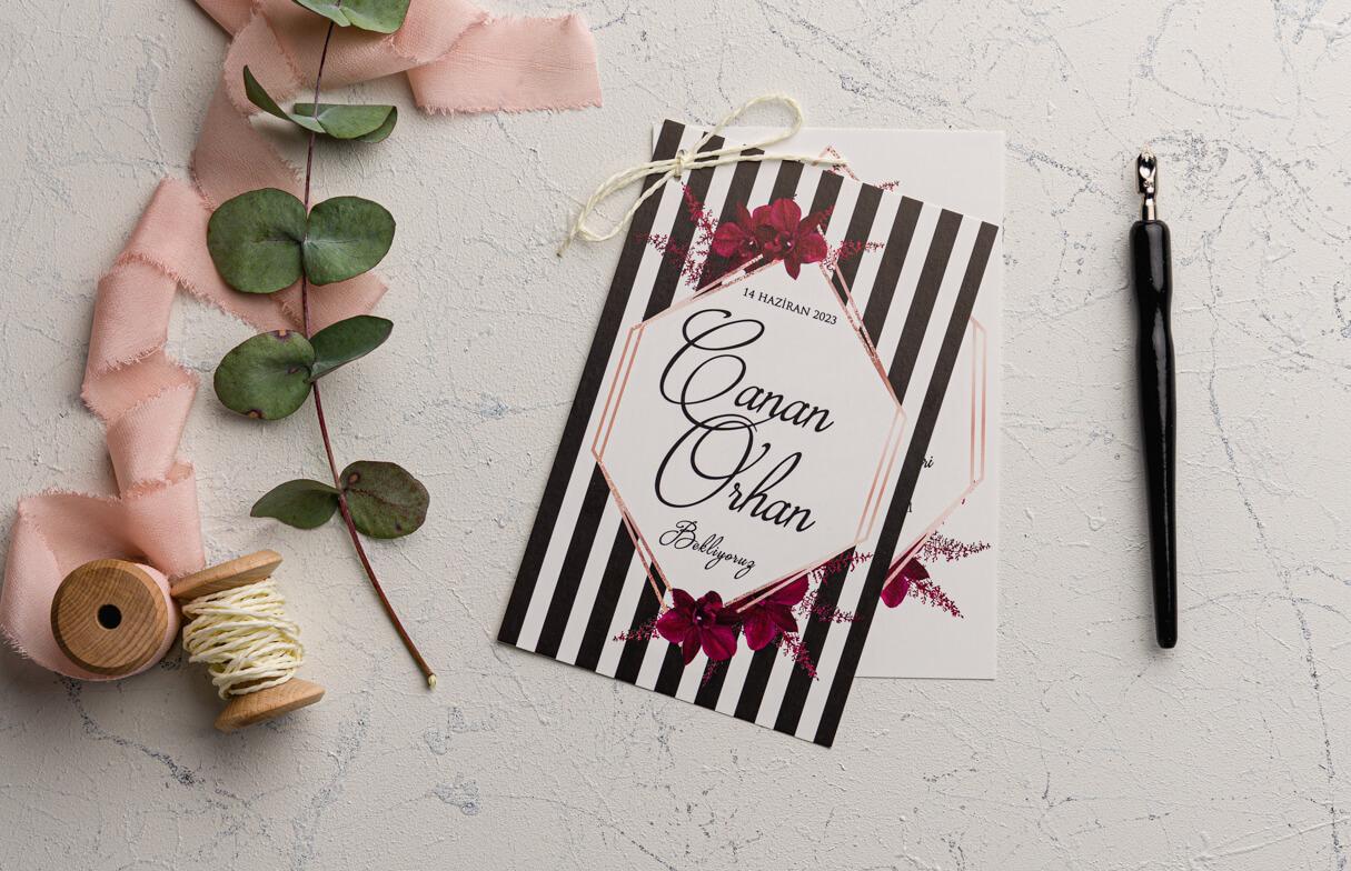 Ucuz düğün davetiyesi